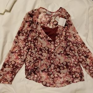 NWT Liz Claiborne Womens blouse